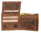 Greenburry Vintage Wallet Leather 11 cm brown