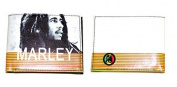 Official Bob Marley Black and White Leather Wallet