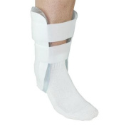 Orthopaedic Gel Cold Therapy Air Stirrup Ankle Sprain and Instability Support Brace - One Size