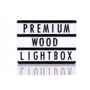 Ginger Snap Black Wooden A4 Lightbox