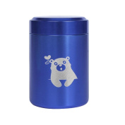 Home Travel Mini Storage Coffee Tin Metal Cans Tea Canister-A6