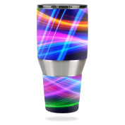 MightySkins Protective Vinyl Skin Decal for Ozark Trail 1180ml Tumbler wrap cover sticker skins Light Waves