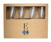 E.D. Edison Style LED 8-Light String, Battery Powered, Elongated