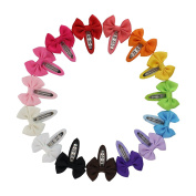 15 pieces Hair Claw Clip for Girls Girls Clips Hair bow Fork