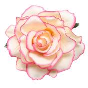 Bodhi2000® Womens Bridal Rose Hair Clip Hair Accessories Pin up Flower Brooch