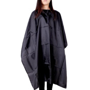 Ularma Cutting Hair Waterproof Cloth, Hairdresser Salon Barber Hairdressing Beauty Gown Cape Apron