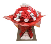 New Baby Christmas Clothing Bouquet Baby Shower Gift