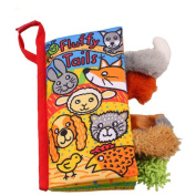 Cloth Book, Zolimx Animal Tails Baby Toy Intelligence Puzzle Cognition Cloth Development Books