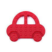 Baby J's Car BPA free silicone baby teether. Free Delivery.