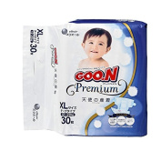 Goo. N Premium XL Nappies (12-20 kg) Pack of 30 Premium Quality Made in Japan