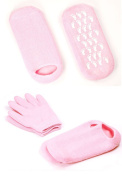 Pinkiou Soften SPA Gel Moisturising Gloves and Socks for Moisturise Cracked Skin Care
