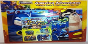 DC Super Friends Amazing Adventures Activity Book and Wall Scene Play Set