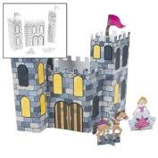 Colour Your Own 3D Castles - Vacation Bible School & Crafts for Kids