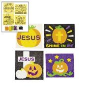 Christian Pumpkin Sand Art Craft Kit - Vacation Bible School & Craft Supplies
