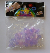 100 Colour Changing Loom Band Beads - For use with Loom Bands (HL392) [Toy]