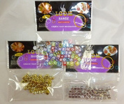 156 Letter Beads - Alphabet Loom Band Beads - Use With Loom Bands [Toy]