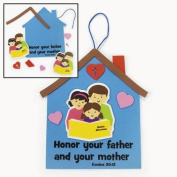 Mom & Dad Sign Craft Kit - Religious Crafts & Crafts for Kids