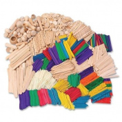 CKC1718 - ChenilleKraft Wood Craft Classroom Activities Kit