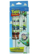 Toy Story Coloured Pencils 10 Pack - Childrens Coloured Pencils