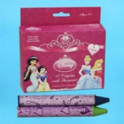 Disney Princess  stationery  supplies- Princess 48pcs crayons [Toy]