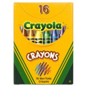 Crayola Regular Size Crayons 16pk [Set of 4]