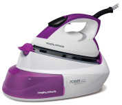 Morphy Richards 333001 Power Steam IntelliTemp Steam Generator - Purple