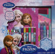 1 X Frozen Deluxe Art Set - Will Give Hours of Creative Fun! by Disney