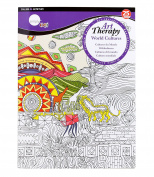 Daler-Rowney Simply Art Therapy - World Cultures Large Book