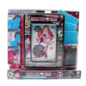 Monster High Creepy Mix and Match Colouring Set
