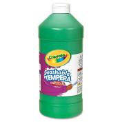 Crayola Artista II Washable Tempera Paint, Green, 950ml