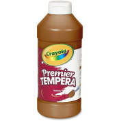 Premier Tempera Paint, Brown, 470ml