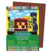 Riverside Acid Free All-Purpose Construction Paper - 30cm x 23cm - Dark Brown