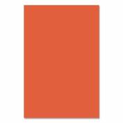 Riverside Groundwood Construction Paper - 30cm x 46cm - Orange