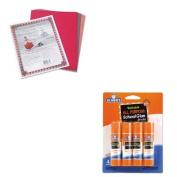 KITEPIE542PAC103637 - Value Kit - Elmer's Washable All Purpose School Glue Sticks (EPIE542) and Pacon Riverside Construction Paper