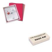 KITPAC103637SAN73201 - Value Kit - Prismacolor MAGIC RUB Art Eraser (SAN73201) and Pacon Riverside Construction Paper