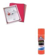 KITEPIE524PAC103637 - Value Kit - Elmer's Washable School Glue Stick (EPIE524) and Pacon Riverside Construction Paper