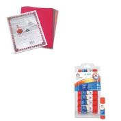 KITEPIE553PAC103637 - Value Kit - Elmer's All-Purpose Permanent Glue Sticks (EPIE553) and Pacon Riverside Construction Paper