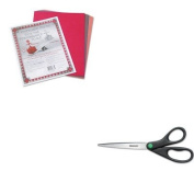 KITACM13138PAC103637 - Value Kit - Westcott KleenEarth Recycled Scissors (ACM13138) and Pacon Riverside Construction Paper
