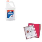 KITEPIE1326PAC103637 - Value Kit - Elmer's Glue-All White Glue (EPIE1326) and Pacon Riverside Construction Paper