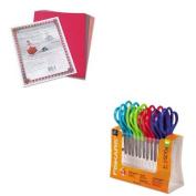 KITFSK95017197JPAC103637 - Value Kit - Fiskars Children's Safety Scissors (FSK95017197J) and Pacon Riverside Construction Paper