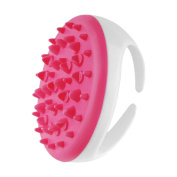 HuntGold Body Message Brush, 1Pc Partable Handheld Anti Cellulite [Clear Dead Skin Cell] Full Body Massage Brush Slimming Beauty Massager Random Colour