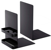 YAMAZAKI home Tower Book End, Black