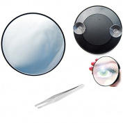 Merssavo 10X Magnifying Makeup Mirror, Magnification Cosmetic Mirror for Beauty Bedroom Shaving Travelling