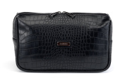 Men's Toiletry Bag Black Croc Cooper JJDK