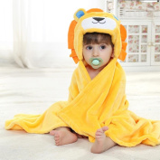 .   3D Lion Baby Infant Newborn Hooded Bath Towel Blankets