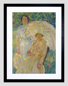 PAINTING MCNICOLL WHITE SUNSHADE FRAMED ART PRINT F12X11490