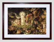 PAINTING PATON THE QUARREL OF OBERON AND TITANIA FRAMED ART PRINT F12X11215