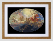 PAINTING CABA TRIUMPH OF DAY OVER NIGHT PRECEDED BY DAWN FRAMED PRINT F97X12680