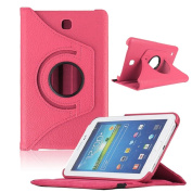 New Case For Samsung Galaxy Tab4 18cm Tablet, T230 Rotating 360 Case Cover