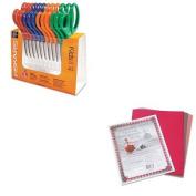 KITFSK95037197JPAC103637 - Value Kit - Fiskars Children's Safety Scissors (FSK95037197J) and Pacon Riverside Construction Paper